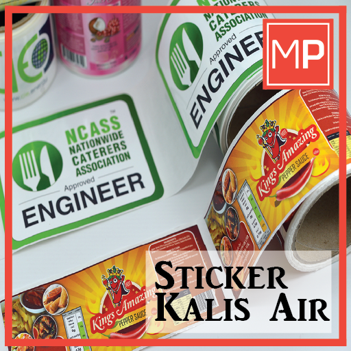 Sticker Kalis Air Murah