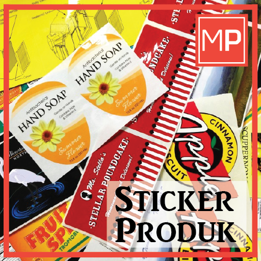Sticker Produk Murah