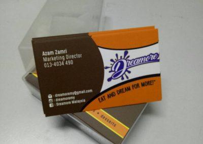 Name Card Murah Serendah Rm6 40 Murah Print